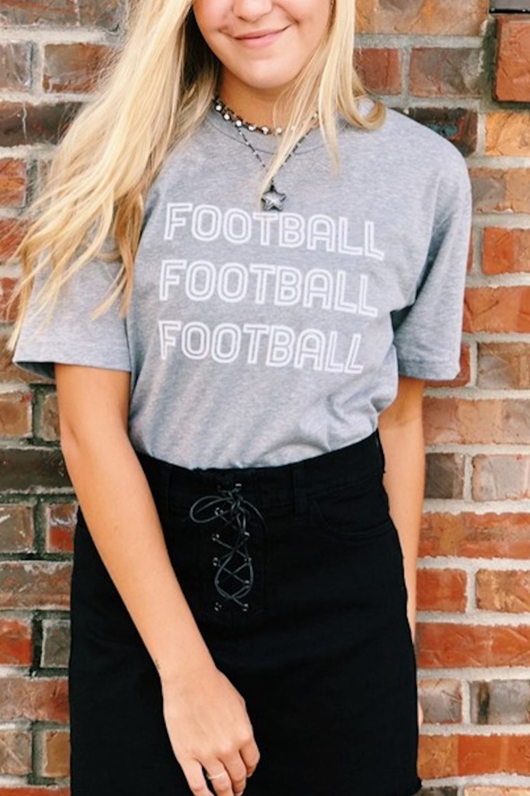 vintage soul Football Football Football Tee - Front Cropped Image