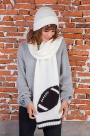 Wooden Ships Football Scarf - Front full body