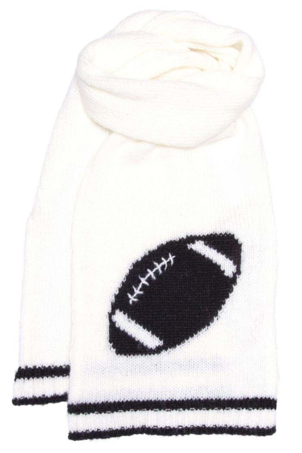 Wooden Ships Football Scarf - Side Cropped Image
