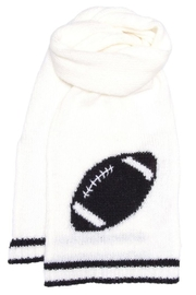 Wooden Ships Football Scarf - Side cropped
