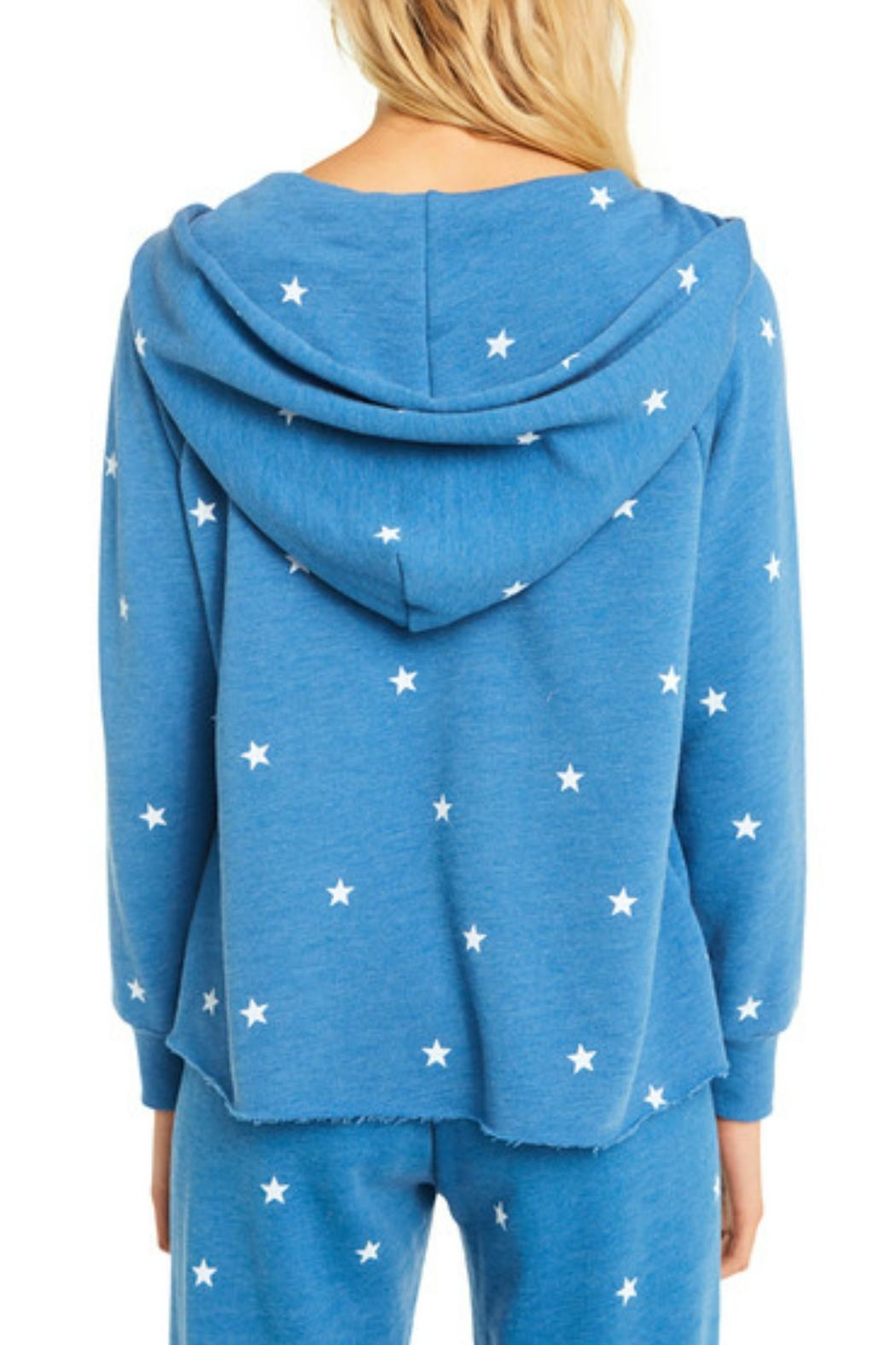 Wildfox Football Star Hoodie - Side Cropped Image