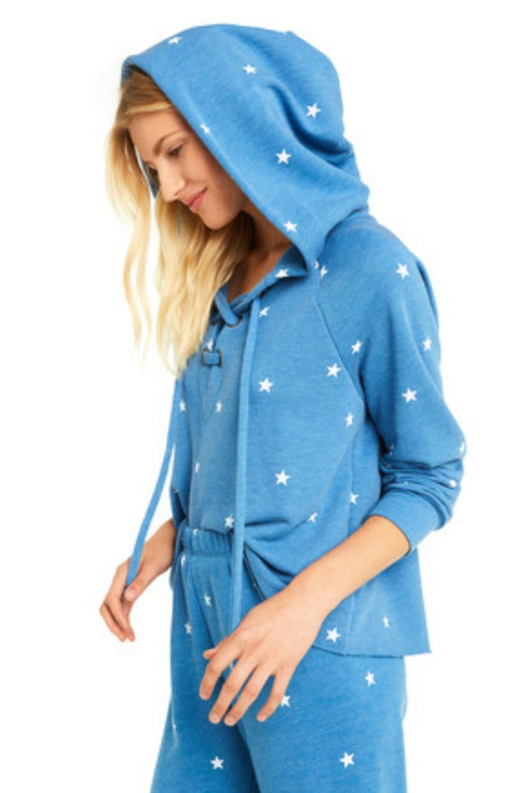Wildfox Football Star Hoodie - Front Full Image