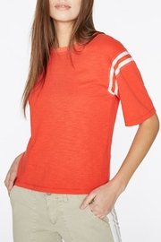 Pam & Gela Football Tee - Product Mini Image