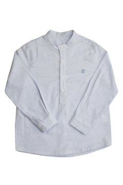 Foque Artsy Mao Collared Shirt - Product List Image