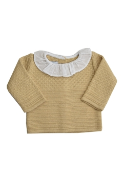 Foque Beige Knitted Sweater - Product List Image