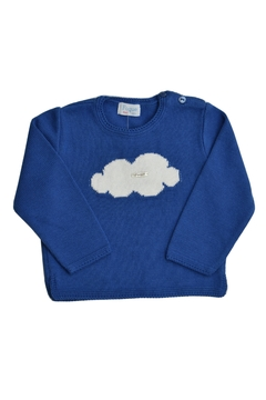 Shoptiques Product: Blue Cloud Jersey