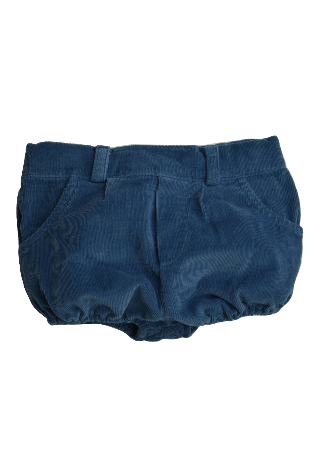 Foque Blue Corduroy Shorts From Florida By Yoyo Children S