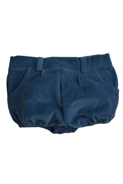 Shoptiques Product: Blue Corduroy Shorts