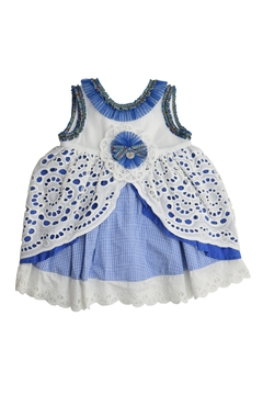 Foque Blue Empire Dress - Product List Image