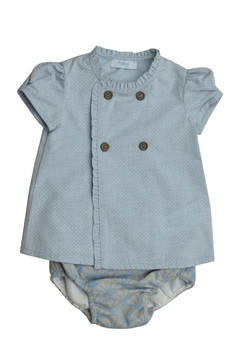 Foque Blue Jacquard Set - Product List Image