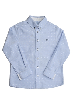 Shoptiques Product: Blue Polkadots Polo