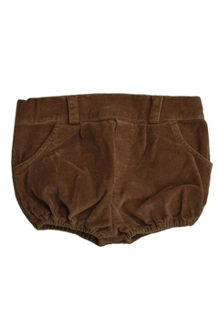 Shoptiques Product: Brown Corduroy Shorts