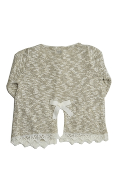 Foque Gold & White Knitted Top - Alternate List Image