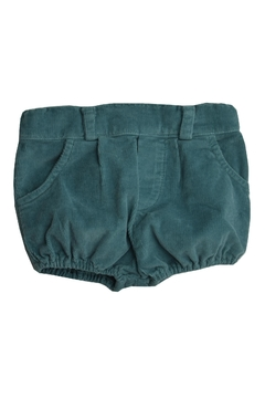 Shoptiques Product: Green Corduroy Shorts