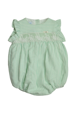 Foque Green Stripe Onesie - Alternate List Image