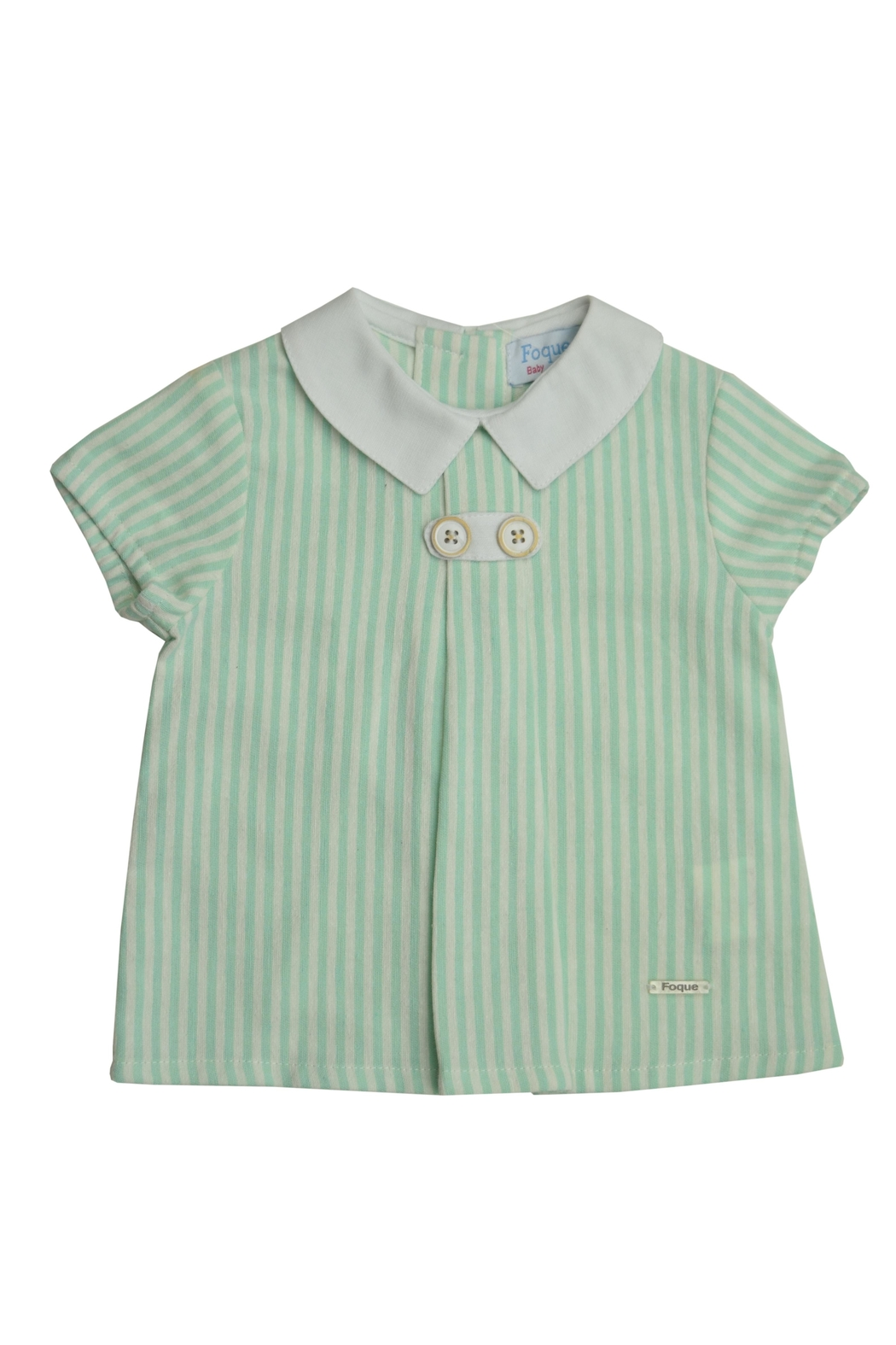 Foque Green Stripe Set - Front Full Image