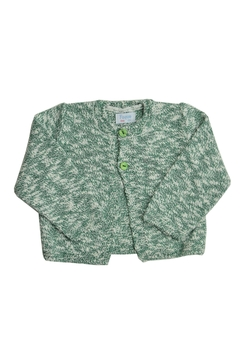 Foque Green & White Sweater - Product List Image