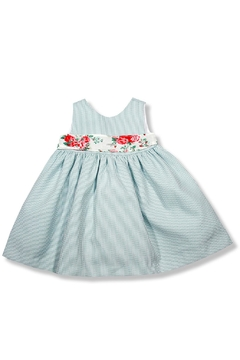 Foque Mint Flower Dress - Product List Image