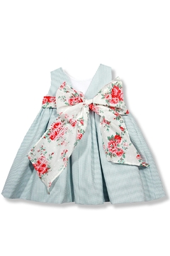 Foque Mint Flower Dress - Alternate List Image