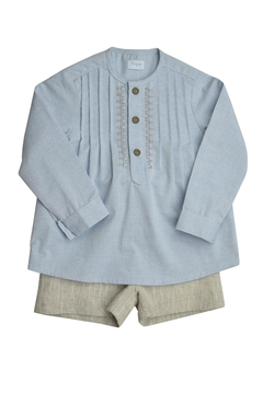 Foque Pleated Shirt Set - Product List Image