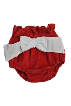 Shoptiques Product: Red Corduroy Bloomer