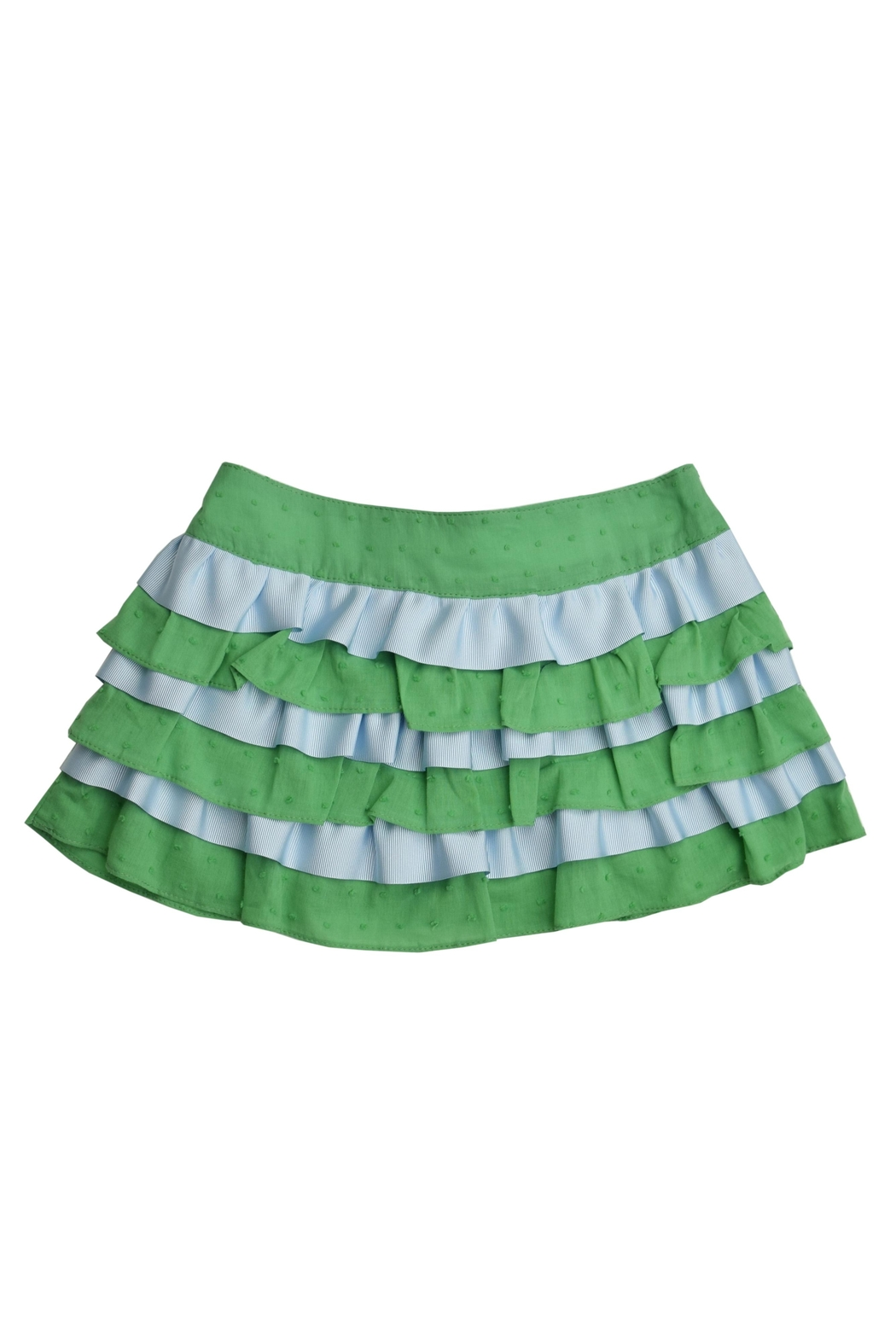 Foque Ruffled Skirt Set - Side Cropped Image