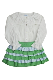 Foque Ruffled Skirt Set - Front cropped