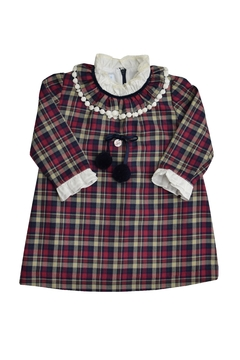 Foque Scottish Tartan Dress - Alternate List Image