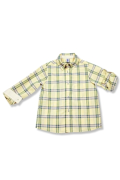 Shoptiques Product: Yellow Flannel Shirt