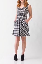 Smak Parlour For-Keeps Gingham Dress - Product Mini Image