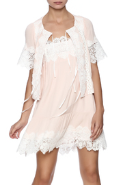 FOR LOVE & LEMONS Hayley Tie Front Top - Product Mini Image