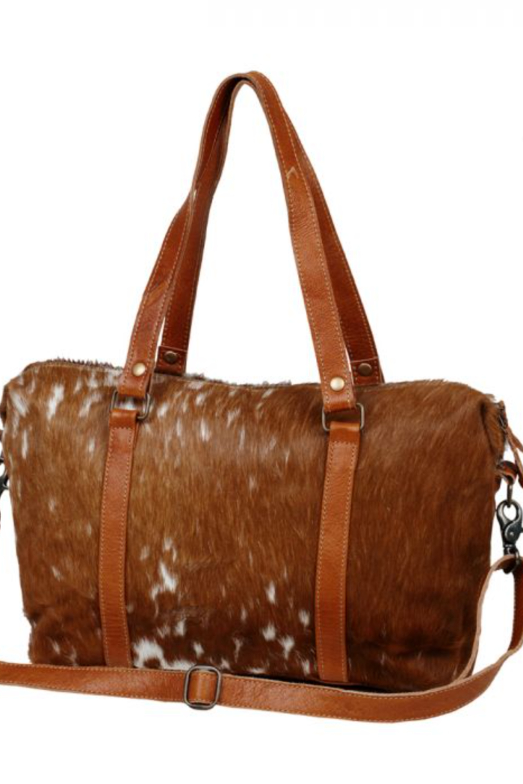 Myra bag  For the love of Cowhide & Leather - Side Cropped Image