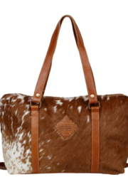 Myra bag  For the love of Cowhide & Leather - Front full body