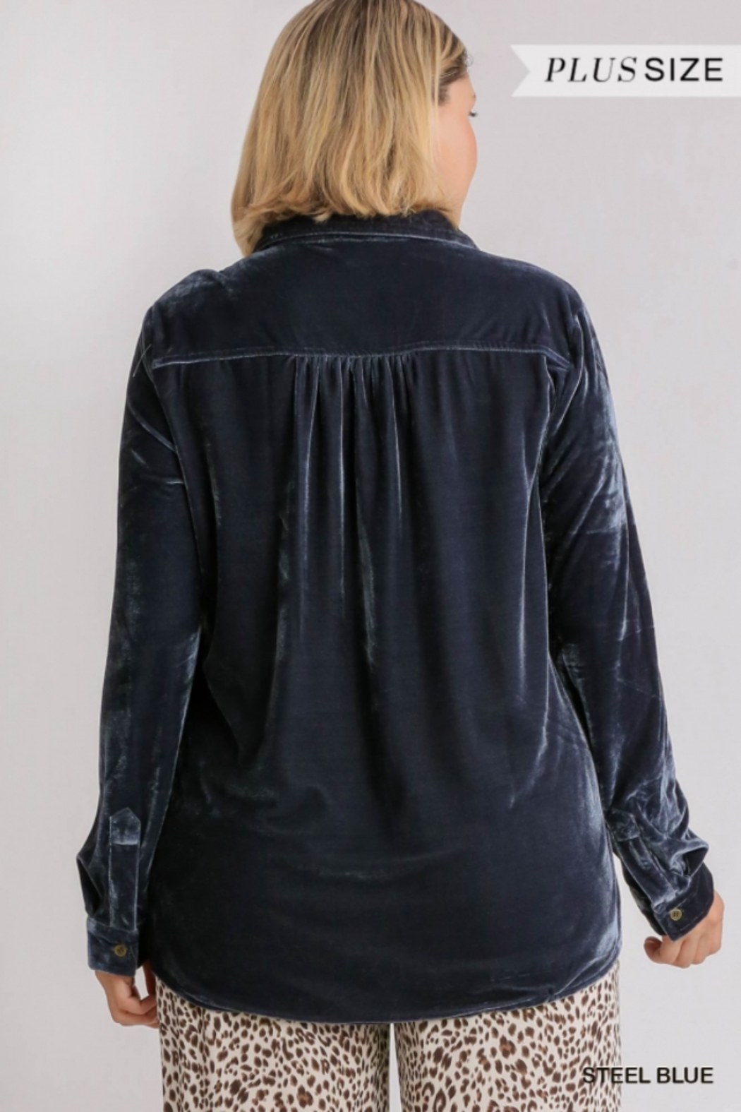 Umgee Plus For the love of Velvet - Side Cropped Image
