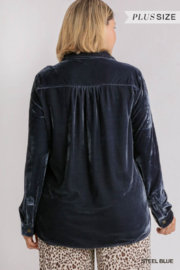Umgee Plus For the love of Velvet - Side cropped
