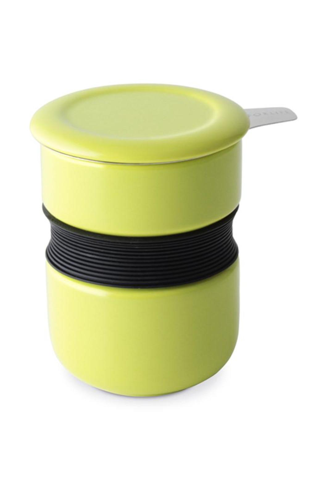 For Life Tea Cup-Infuser Lime - Main Image