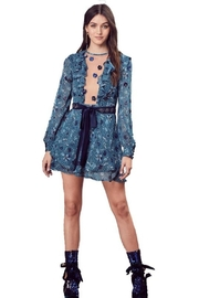 FOR LOVE & LEMONS Agnes Mini Dress - Front cropped