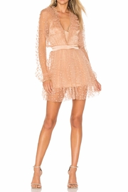 FOR LOVE & LEMONS All That Glitters Dress - Front cropped