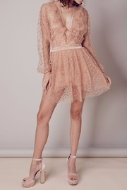 FOR LOVE & LEMONS All That Glitters Dress - Side cropped