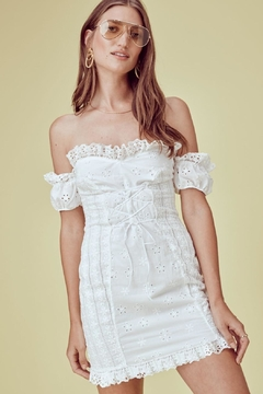 Shoptiques Product: Annabelle Eyelet Dress