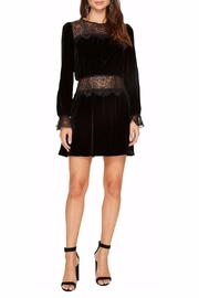 FOR LOVE & LEMONS Beatrix Velvet Lace Dress - Product Mini Image