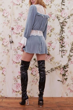 FOR LOVE & LEMONS Beatrix Velvet Mini - Alternate List Image