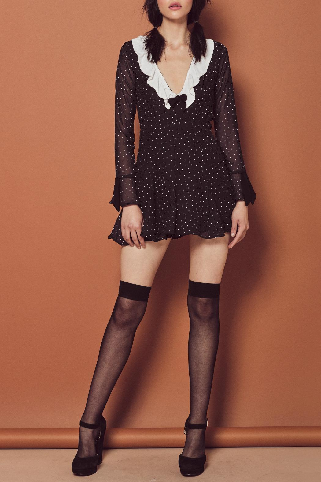 b54af35540465 FOR LOVE & LEMONS Bianca Mini Dress from New Jersey by Seagrass ...