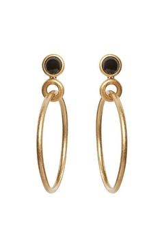 Shoptiques Product: Big Loop Earrings