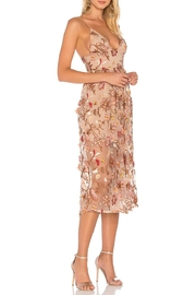 FOR LOVE & LEMONS Botanic Midi Dress - Front full body