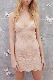 FOR LOVE & LEMONS Bumble Bustier Dress - Product Mini Image