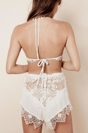 FOR LOVE & LEMONS Caracas Lace Shorts - Front full body