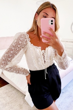 FOR LOVE & LEMONS Carrie Crop Top - Product List Image