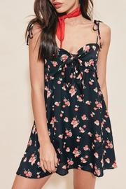 FOR LOVE & LEMONS Cherry Tank Dress - Front cropped