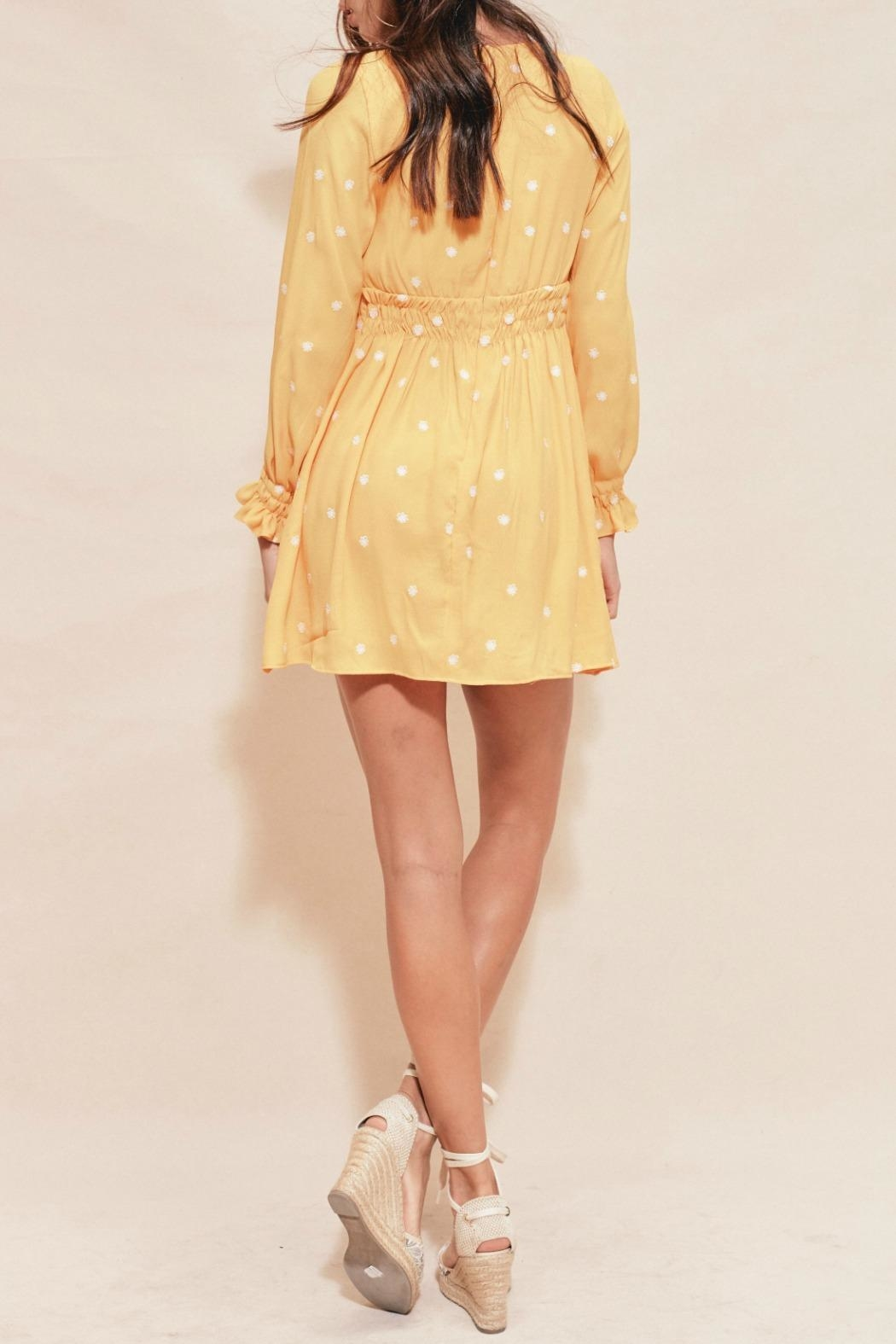 FOR LOVE & LEMONS Chiquita Embroidered Dress - Side Cropped Image